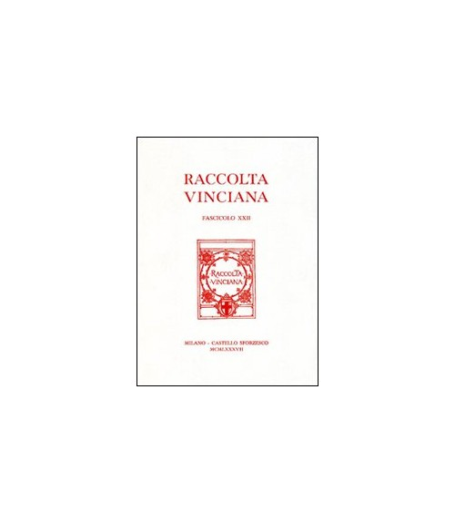 Raccolta Vinciana (1987). Vol. 22.