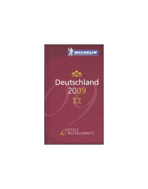 Deutschland 2009. La Guida Michelin.