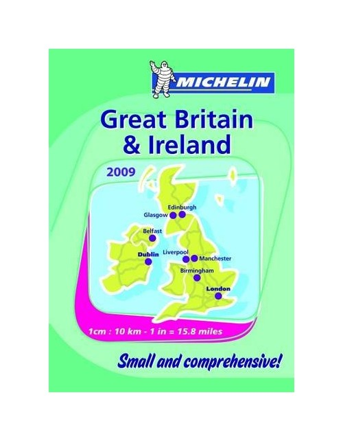 Mini Atlas Great Britain and Ireland.