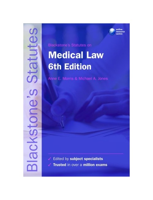 Blackstone's Statutes on Medical Law.