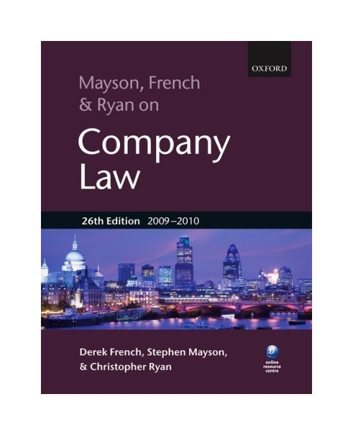 Mayson, French and Ryan on Company Law.