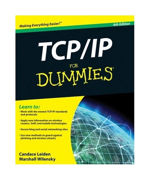 TCP/IP for Dummies.