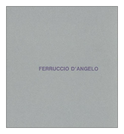Ferruccio D'Angelo. Cinema.