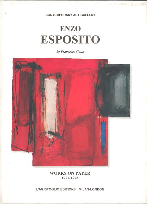 Enzo Esposito. Works on paper. 1977-1993.