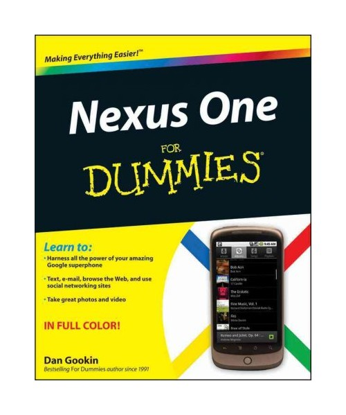 Nexus One for Dummies.