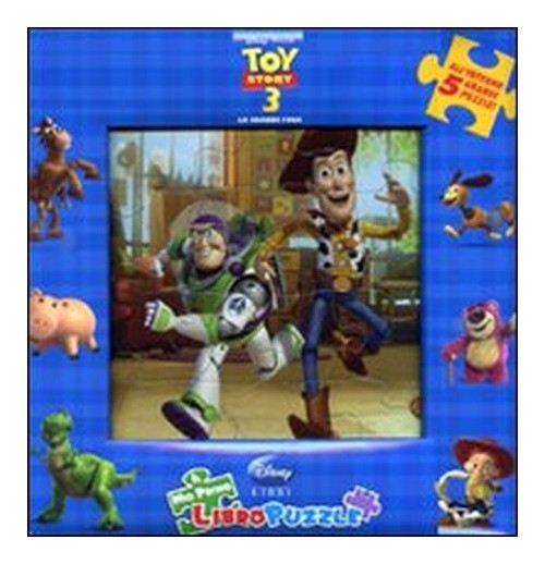 Toy story 3. Libro puzzle.