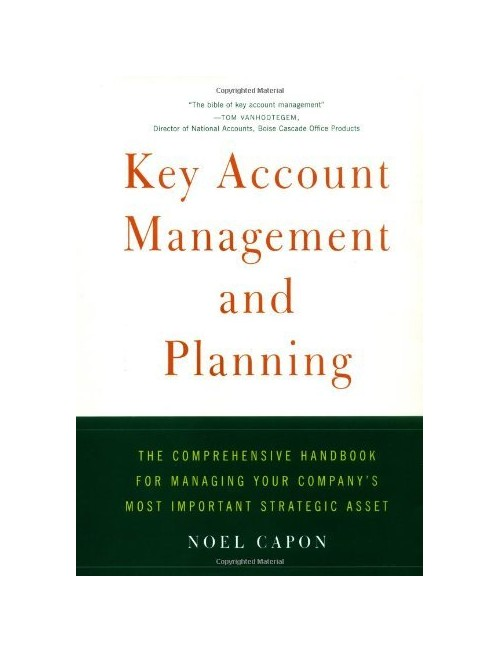 Key Account Management and Planning.