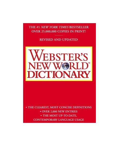 Webster's New World Dictionary.