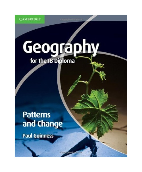 Geography for the IB Diploma Patterns and Change.