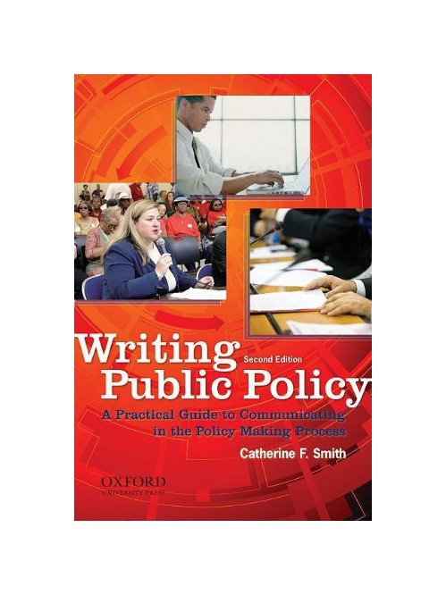 Writing Public Policy.
