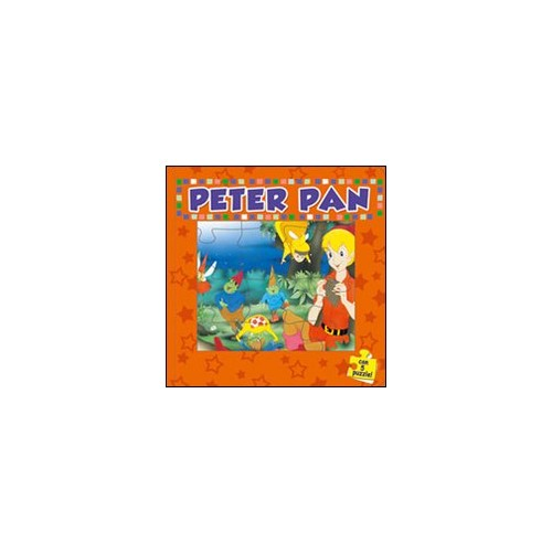 Peter Pan. Con 5 puzzle.