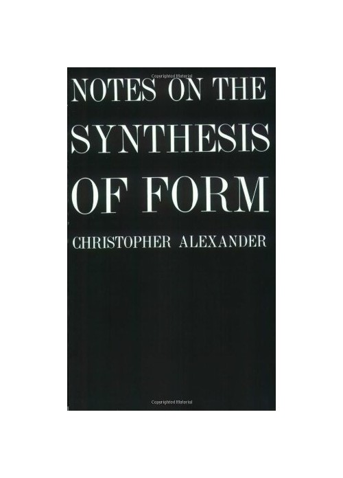 Notes on the Synthesis of Form.