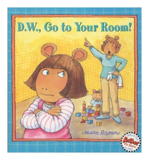D.W. Go to Your Room!.