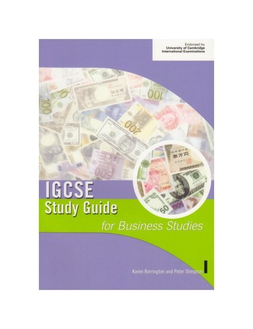 IGCSE Study Guide for Business Studies.