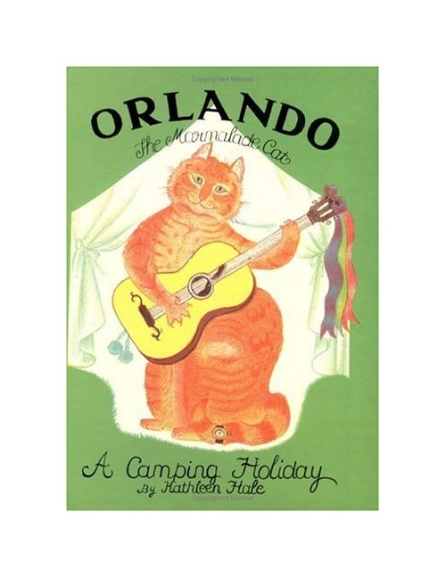 Orlando the Marmalade Cat: A Camping Holiday.