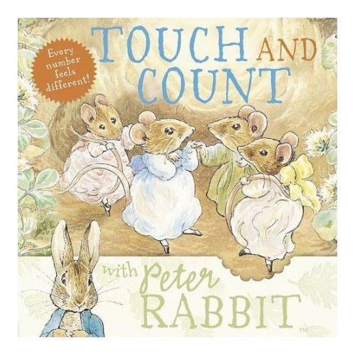 Touch and Count with Peter Rabbit.