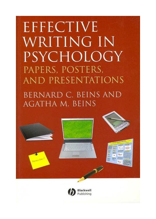 Effective Writing in Psychology.