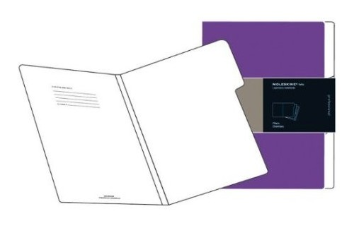 Moleskine Folio Purple Filers.