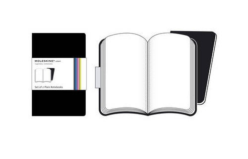 Moleskine Volant Pocket Plain Black.