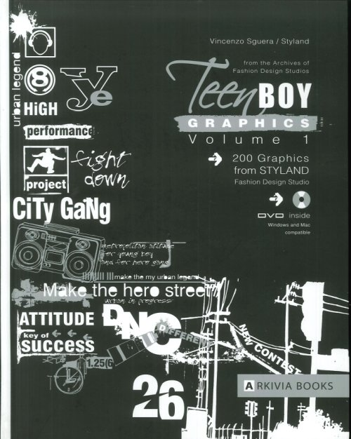 Teen Boy Graphics. Con DVD. Vol. 1.