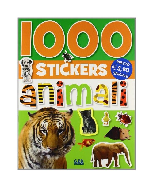 Mille stickers. Animali.