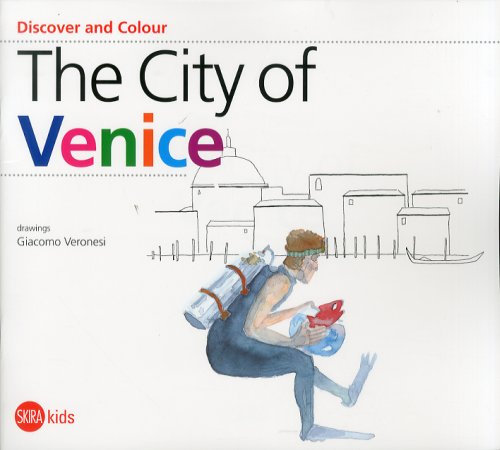 Discover and Colour. The city of Venice.