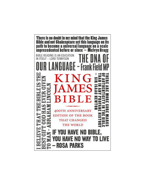 King James Bible.