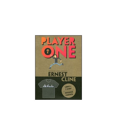 Player one. Con t-shirt donna L.