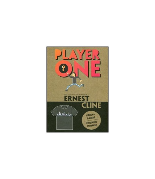Player one. Con t-shirt donna M.