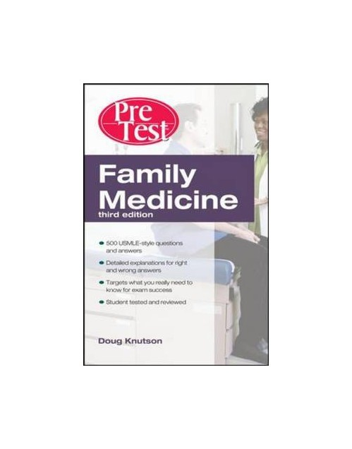 Family Medicine PreTest Self-assessment and Review.