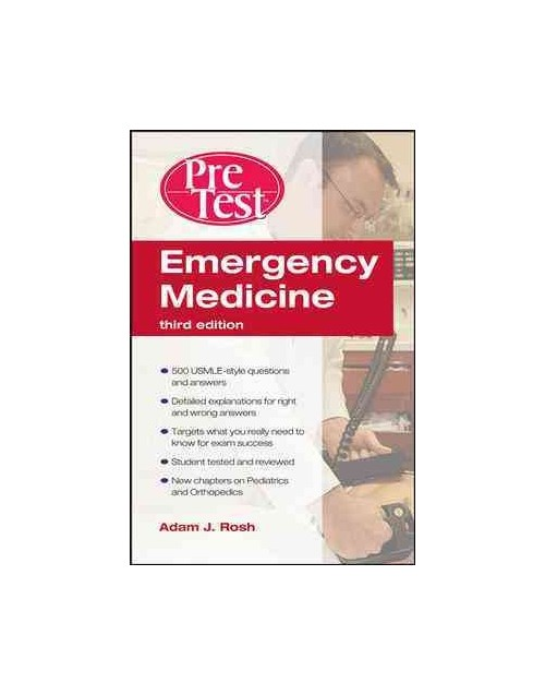 Emergency Medicine PreTest Self-Assessment and Review.