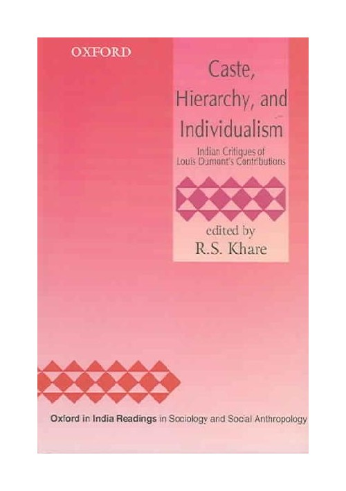 Caste, Hierarchy, and Individualism.