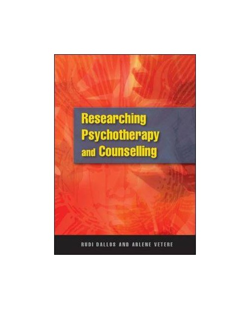 Researching Psychotherapy and Counselling.