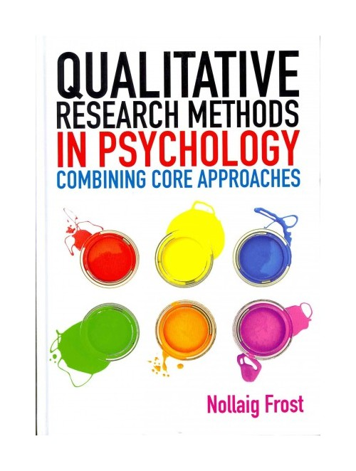Qualitative Research Methods in Psychology.
