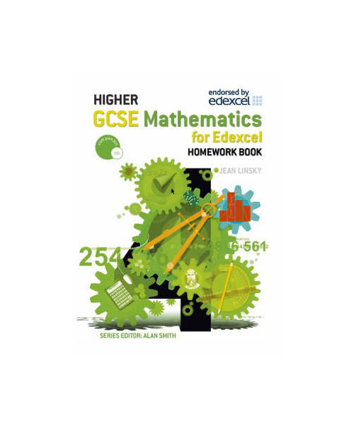 GCSE Maths Higher Homework Book.