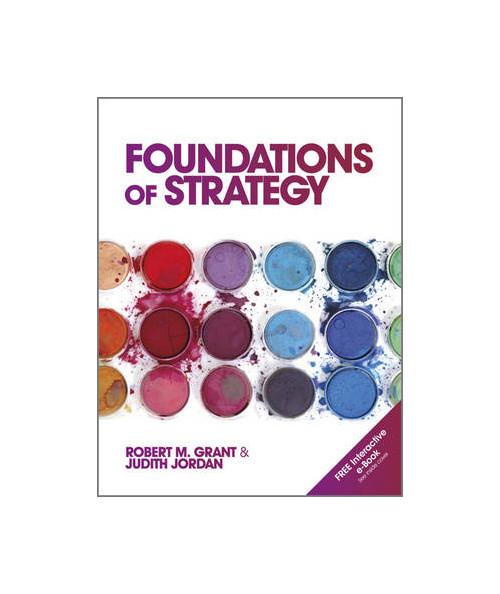 Foundations of Strategy.