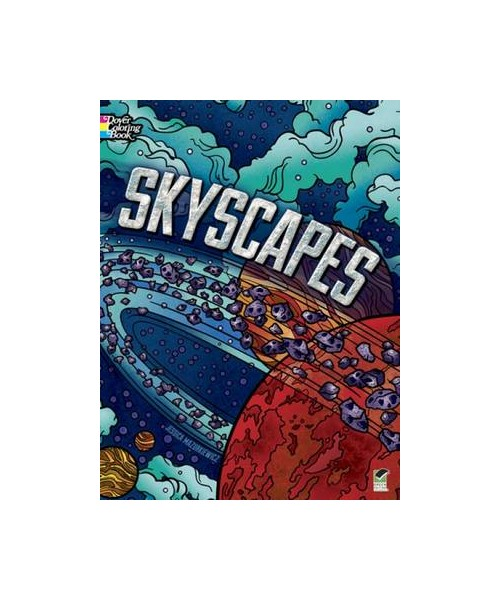 Skyscapes Coloring Book.