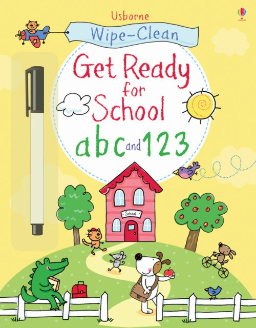 Get ready for school abc and 123.