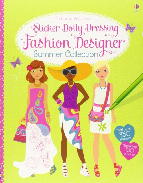 Sticker Dolly Dressing Fashion Designer Summer Collection.