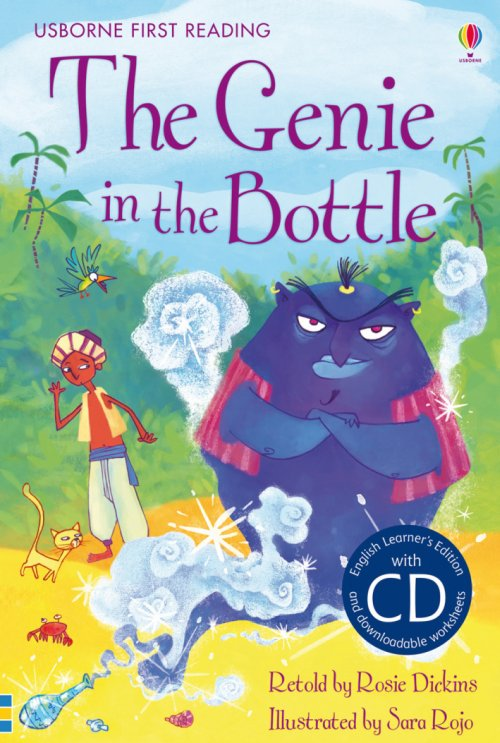 The genie in the bottle.