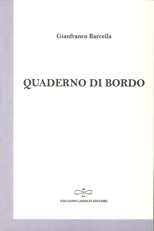 Quaderno di bordo - Barcella Gianfranco