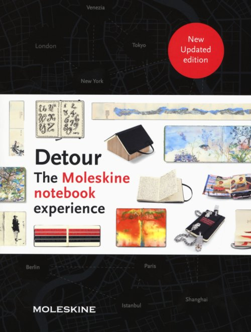 Detour. The Moleskine notebook experience.