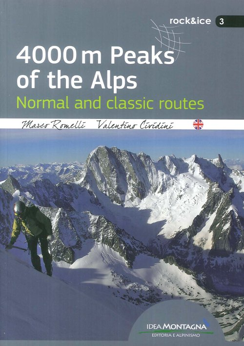4000 m peaks of the Alps. Normal and classic routes.