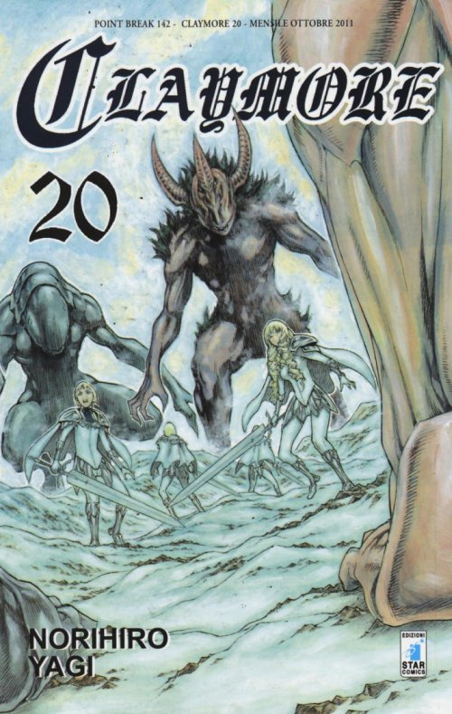 Claymore. Vol. 20.