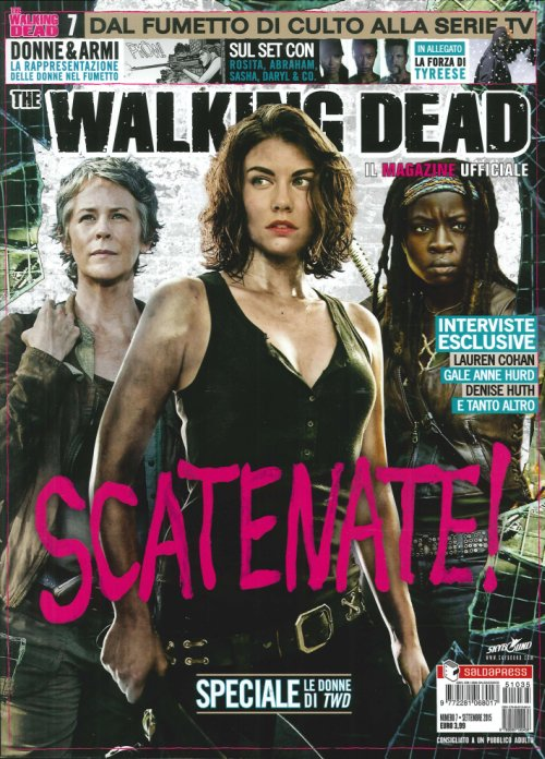 Il Magazine Ufficiale. The Walking Dead. Vol. 7 Donne e Armi. In Allegato - la Forza di Tyreese.