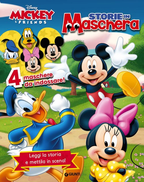 Storie in Maschera. Mickey & Friends. con Gadget.