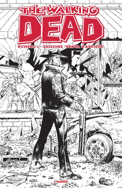 Prova d'Artistra. The Walking Dead. Numero 1.