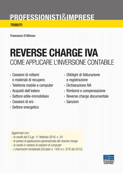 Reverse charge IVA.