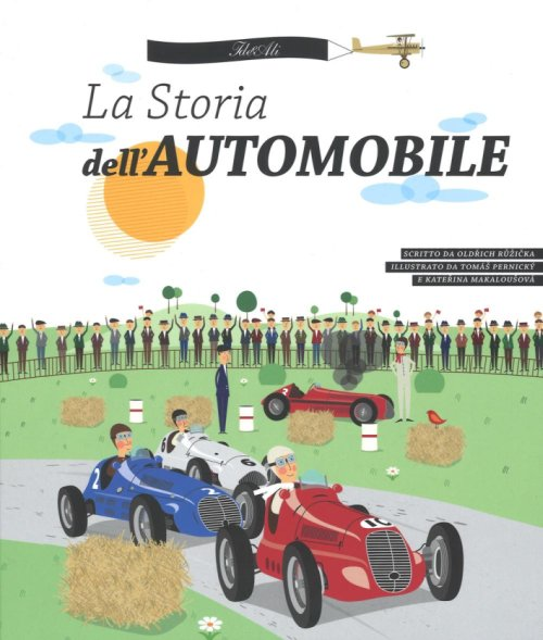 La storia dell'automobile.