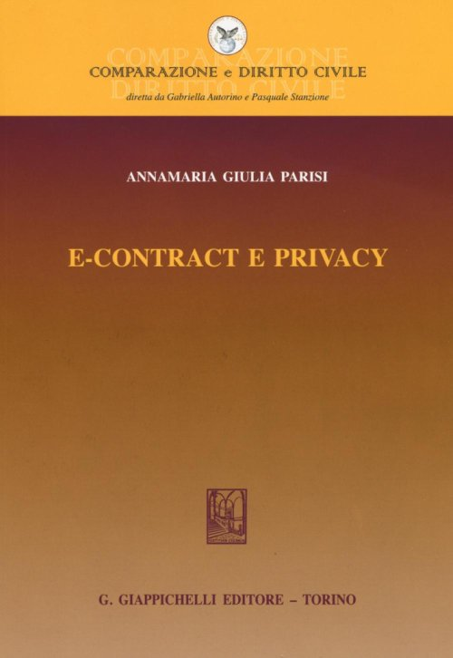 E-contract e privacy.